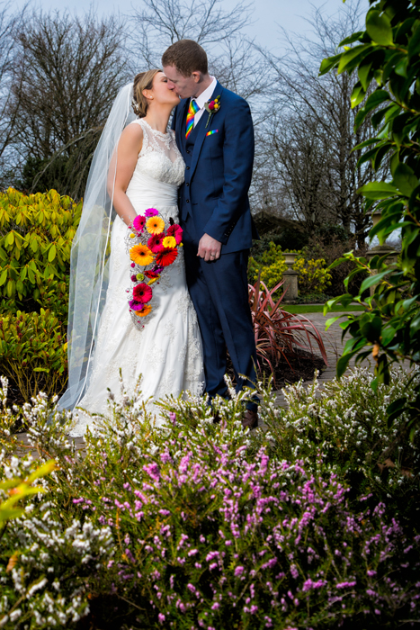 bride and groom photo from slieve russell hotel wedding
