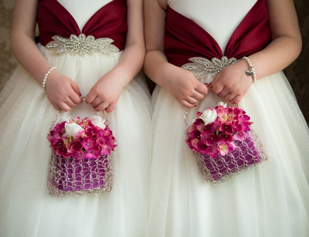 flower baskets for flower girls