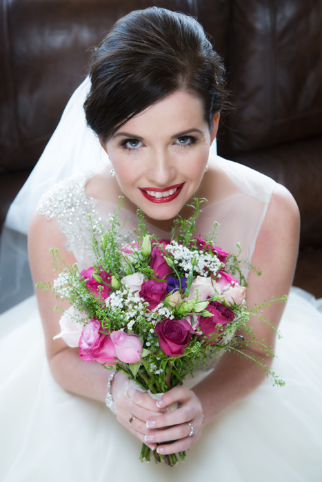stunning bride photo from donegal wedding photographer