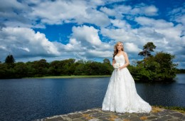 beautiful bride portrait by sligo wedding photographer