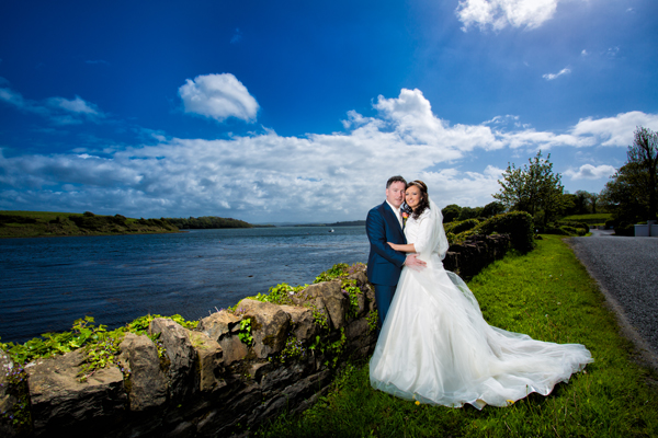 donegal weddings bride and groom photo in donegal town