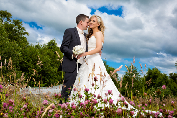wedding photos in the sligo park hotel