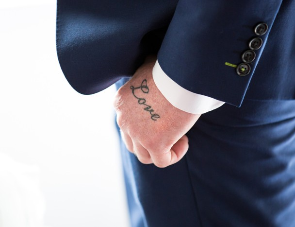 cool grooms love tattoo