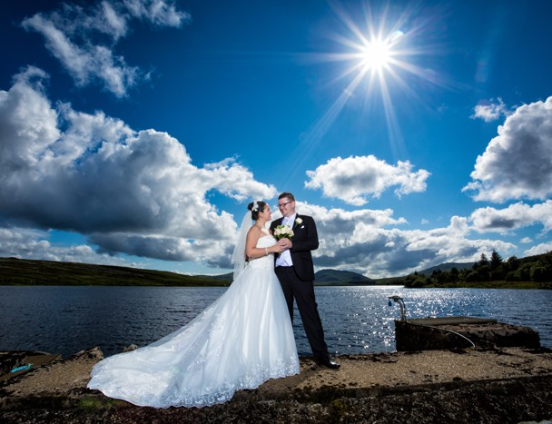 donegal wedding photographer villa rose hotel wedding