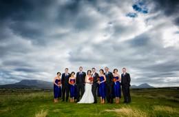 gortahork wedding photography amazing bridal party photo