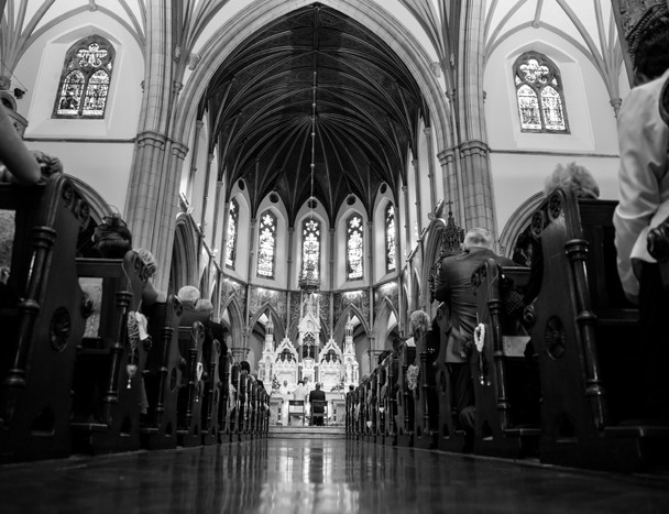 st eunans letterkenny cathedral wedding