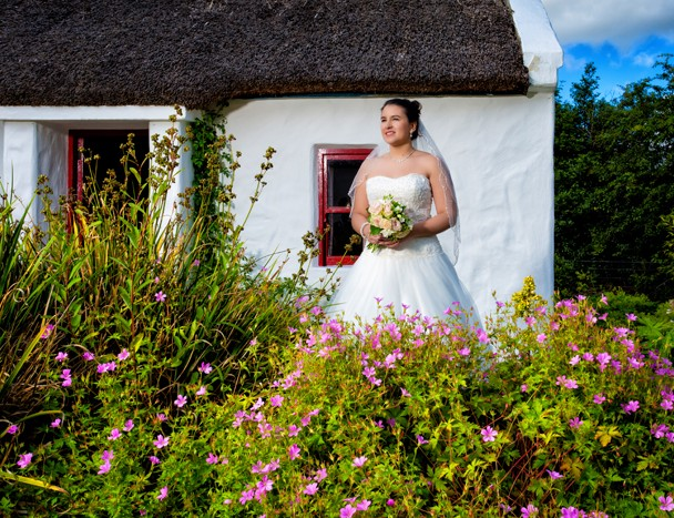wedding photography in the villa rose hotel