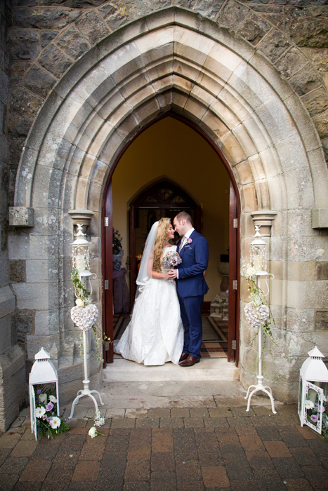 castlederg wedding church photo