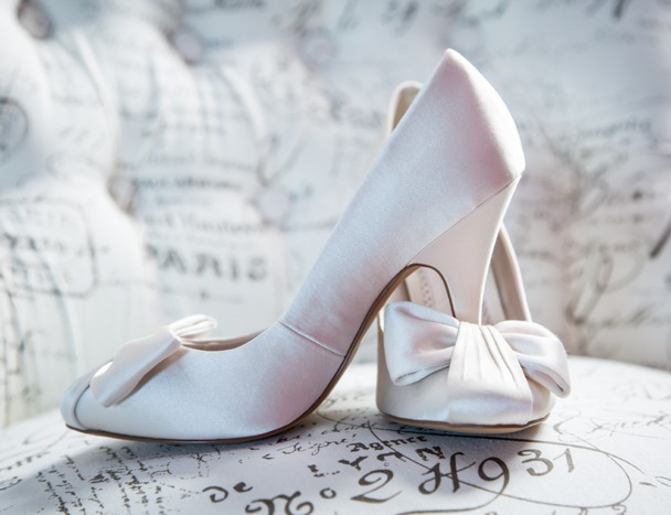 donegal wedding photographer brides wedding shoes photo