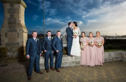 killybegs wedding photo of bridal party