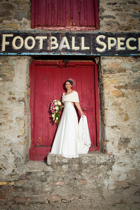 ramelton wedding photos of stunning donegal bride
