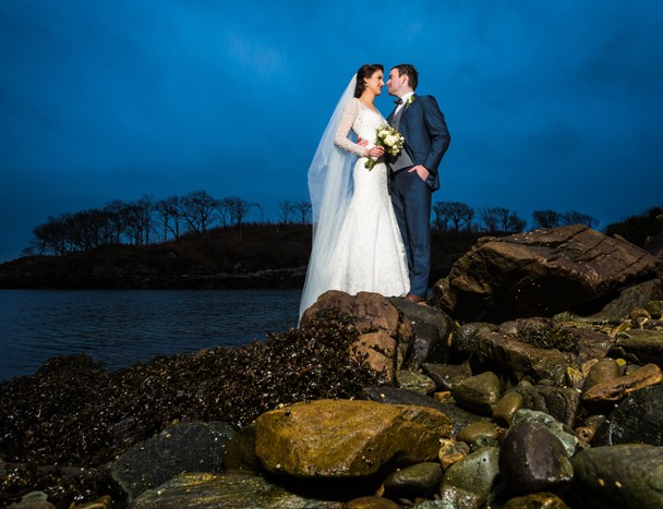 weddings in killybegs bride and groom amazing portrait