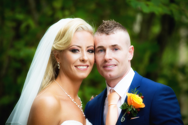 donegal bride and groom portrait photo