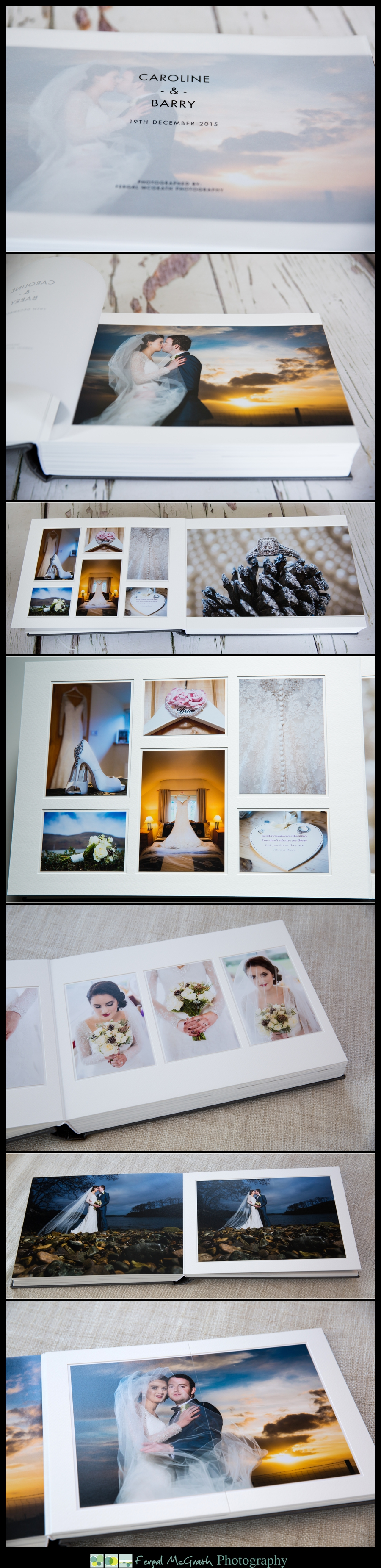 Queensberry Wedding Albums Donegal and Sligo Wedding Photographer