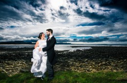 wild atlantic way wedding photo