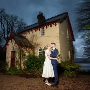 Harveys Point Hotel Winter Wedding Michelle + Sean