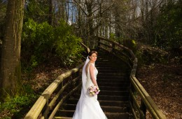 fermanagh wedding photographer bride in castle caldwell