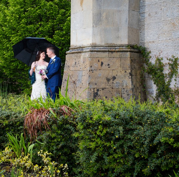 wedding photo in solis lough eske castle
