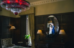 wedding photo in solis lough eske castle