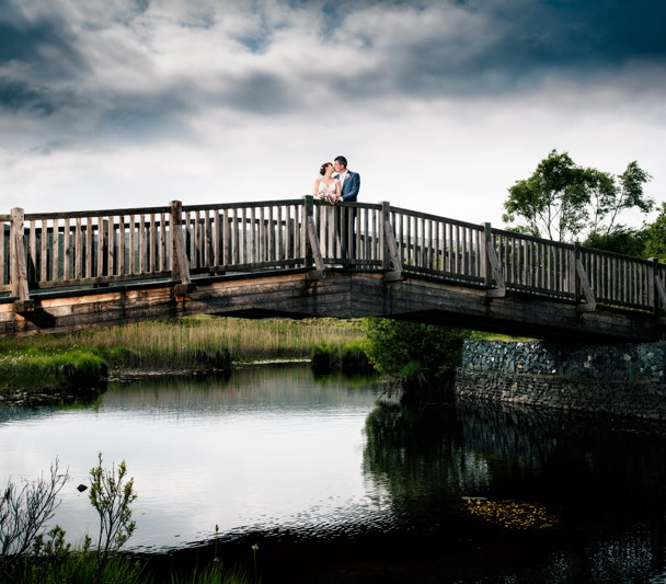 glenveagh national park donegal wedding photo
