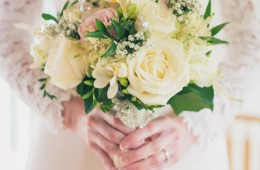 beautiful donegal brides wedding flowers photo