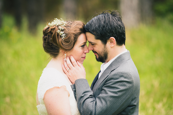bride and groom in love photo by donegal and sligo wedding photographer