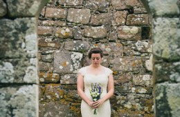 donegal and sligo wedding photographer bride portrait in rossnowlagh