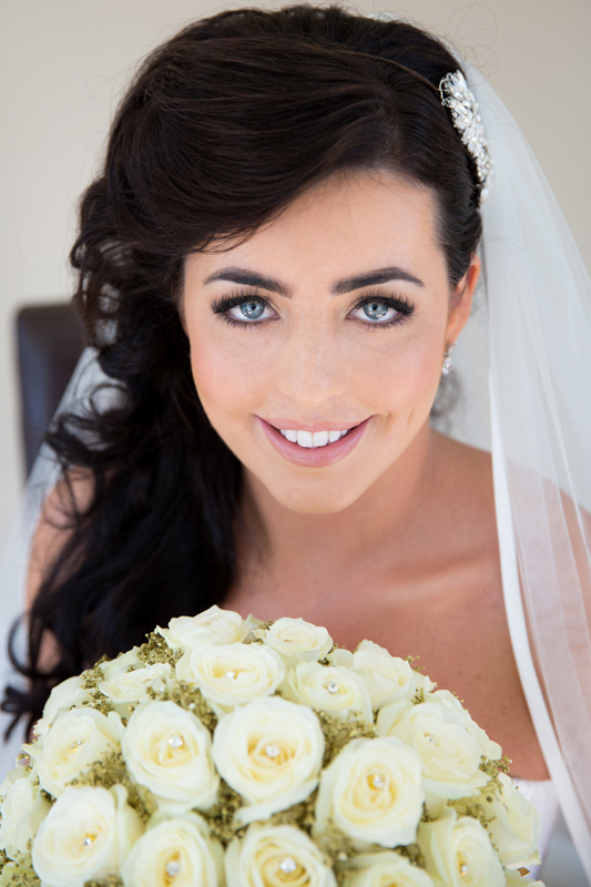 Donegal wedding photographer bundoran bride portrait