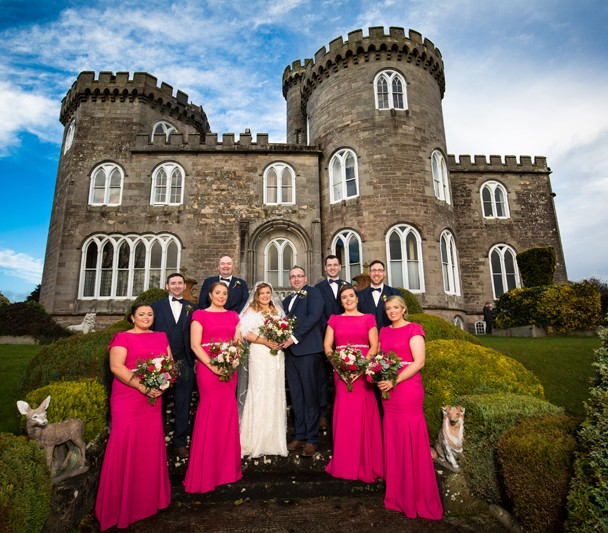 wedding at Killymoon Castle Cookstown