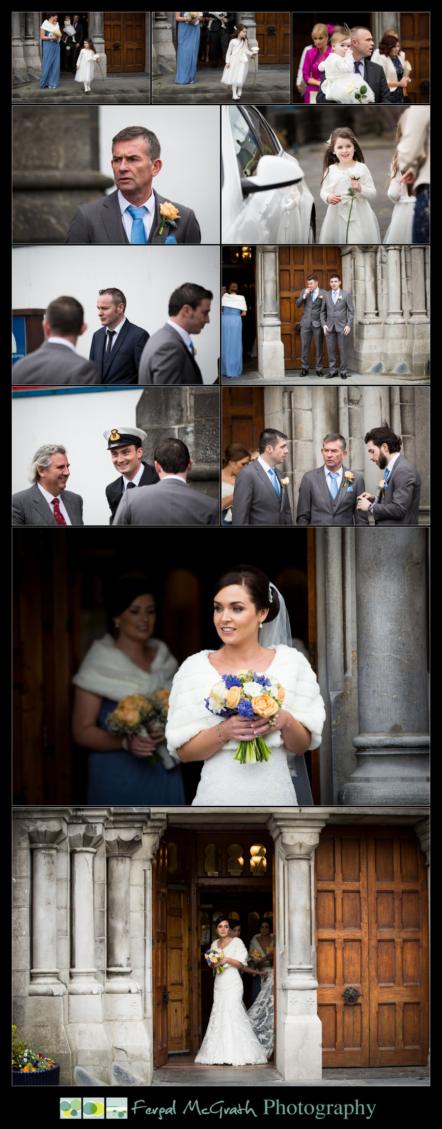 Castle Dargan Hotel Wedding Jamie and Andrew sligo cathedral wedding photos