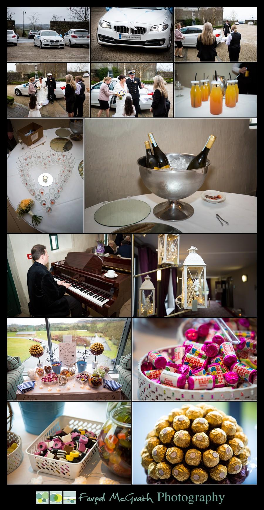 Castle Dargan Hotel Wedding Jamie and Andrew wedding details
