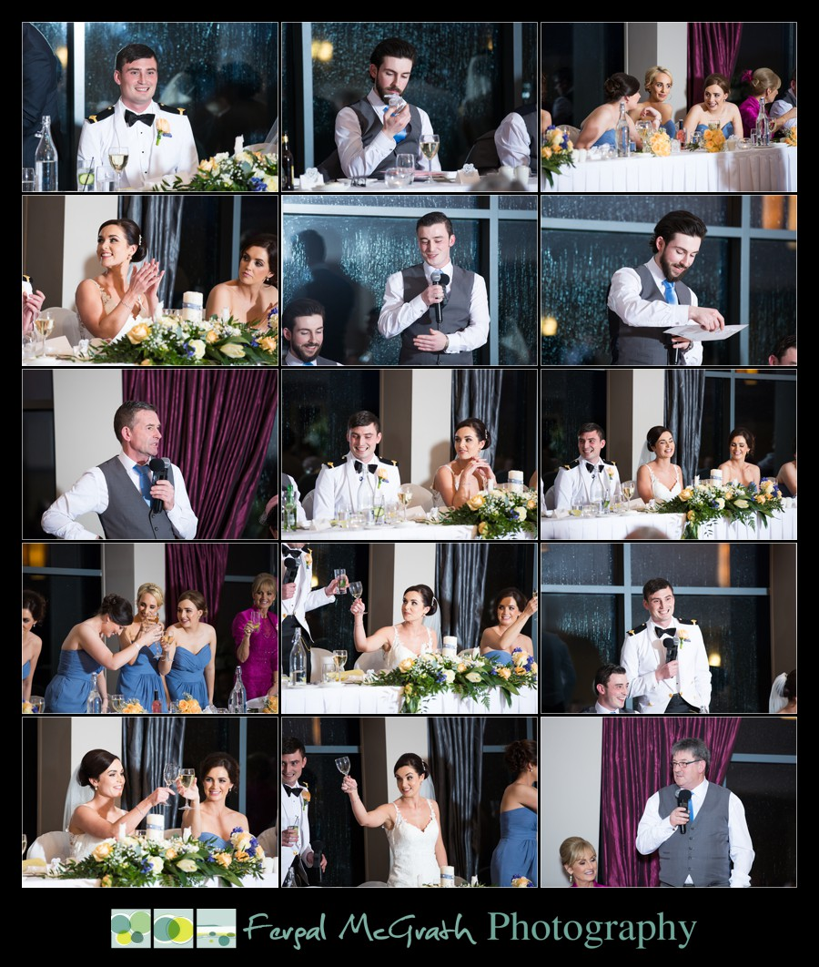 Castle Dargan Hotel Wedding Jamie and Andrew wedding speeches