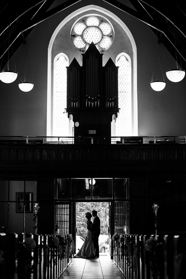 clar church wedding photo