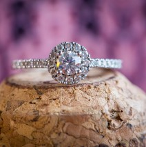 donegal wedding photographer brides engagement ring macro photo