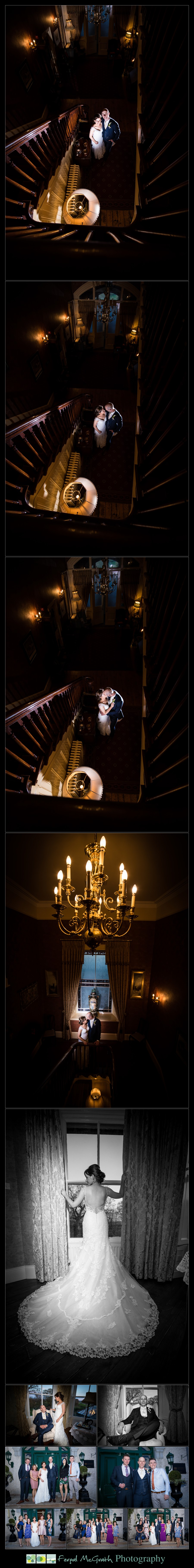 Corick House Hotel Wedding stunning creative wedding photos