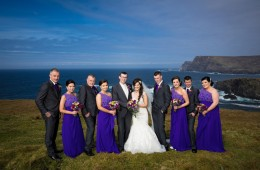 donegal and sligo wedding photographer bridal party
