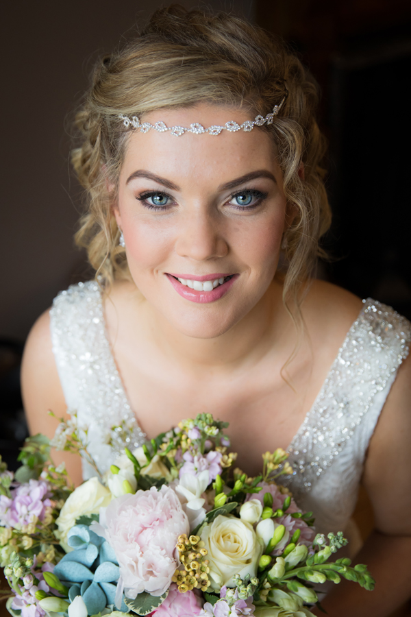 donegal town wedding photographer bride portrait