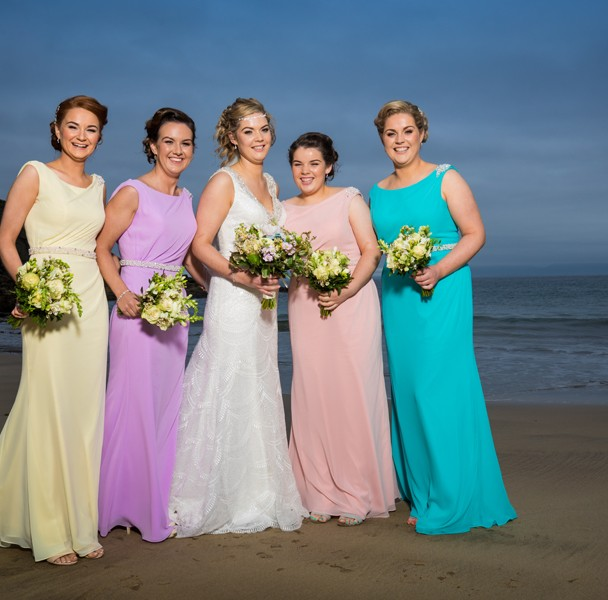 donegal wedding photographer beautiful bridal party