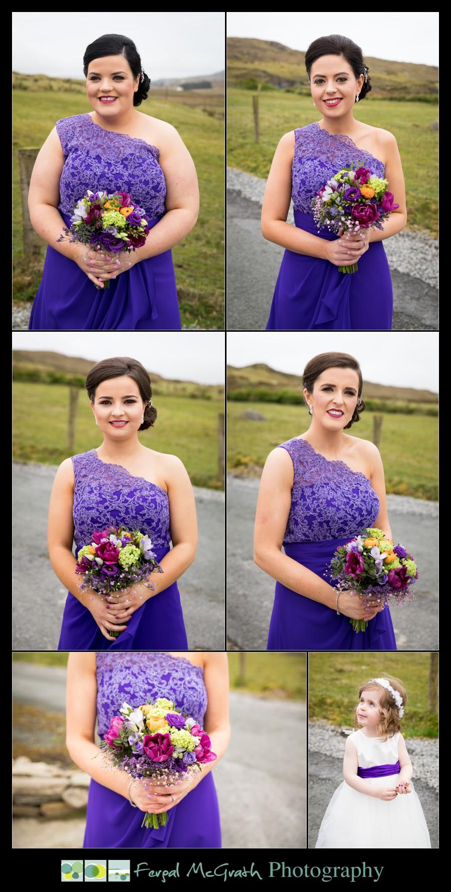 Glencolmcille wedding bridesmaids