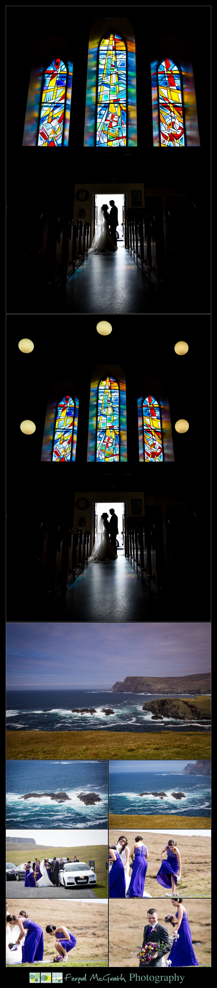 Glencolmcille wedding beautiful wedding photos