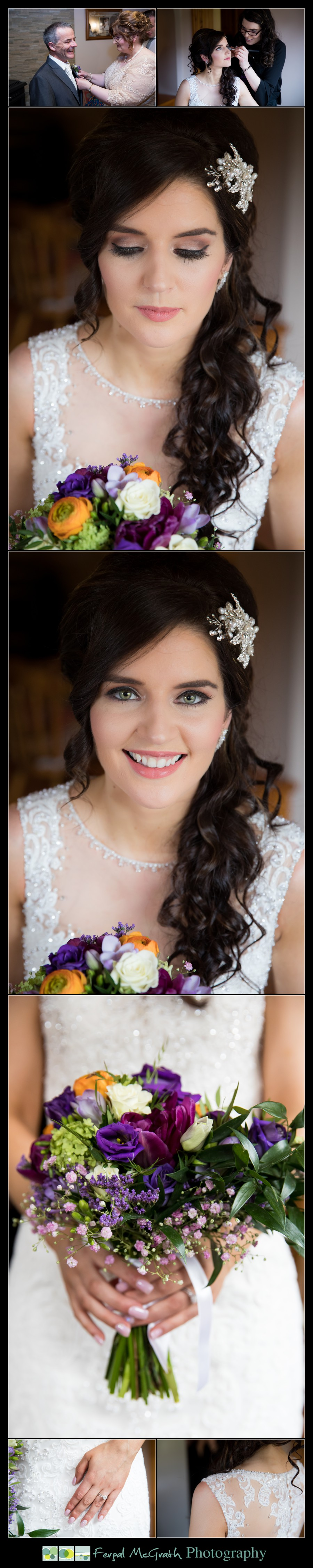Glencolmcille wedding beautiful bride