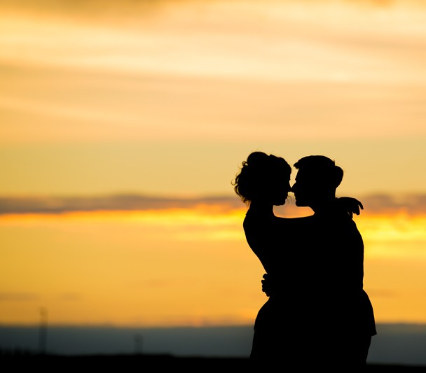 sligo wedding photographer couple at sunset