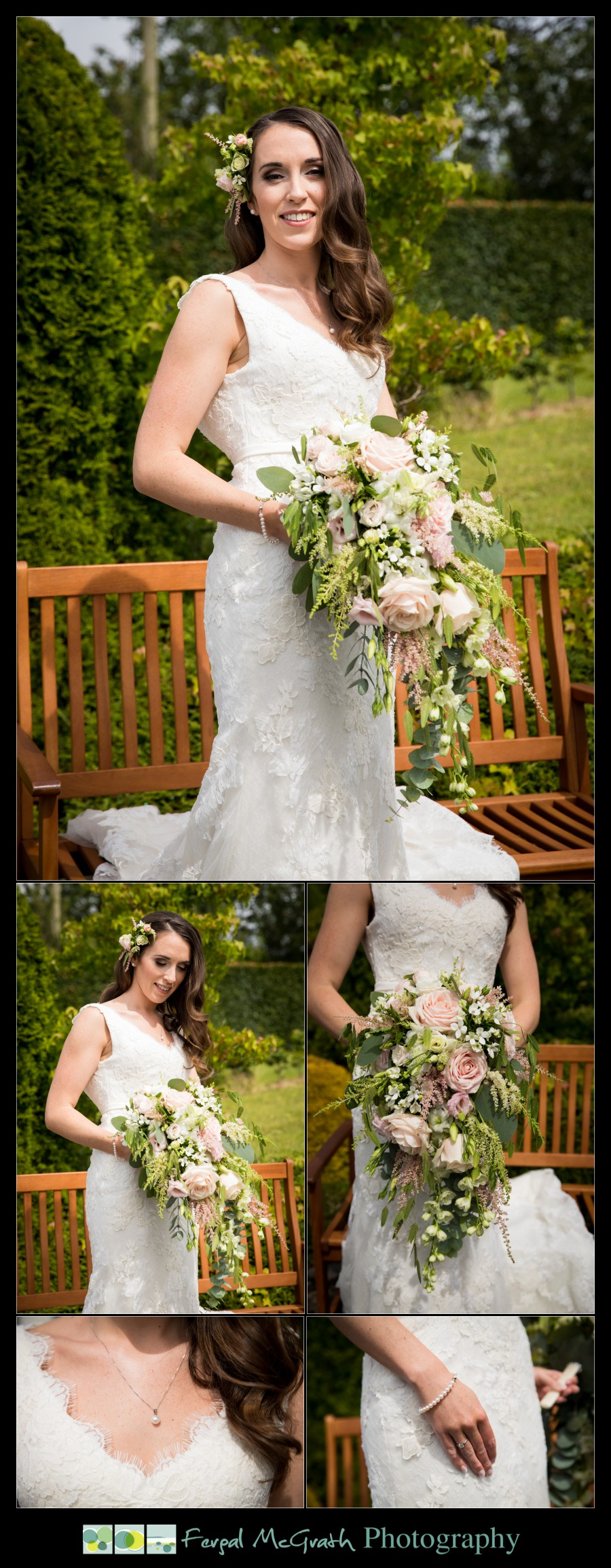 Castle Dargan Hotel Summer Wedding beautiful brides wedding bouquet