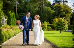 Lough Rynn Castle wedding garden