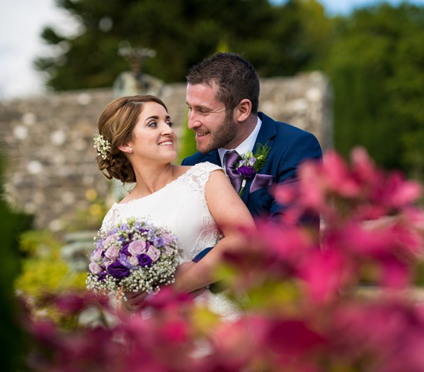 Lough Rynn Castle wedding photo