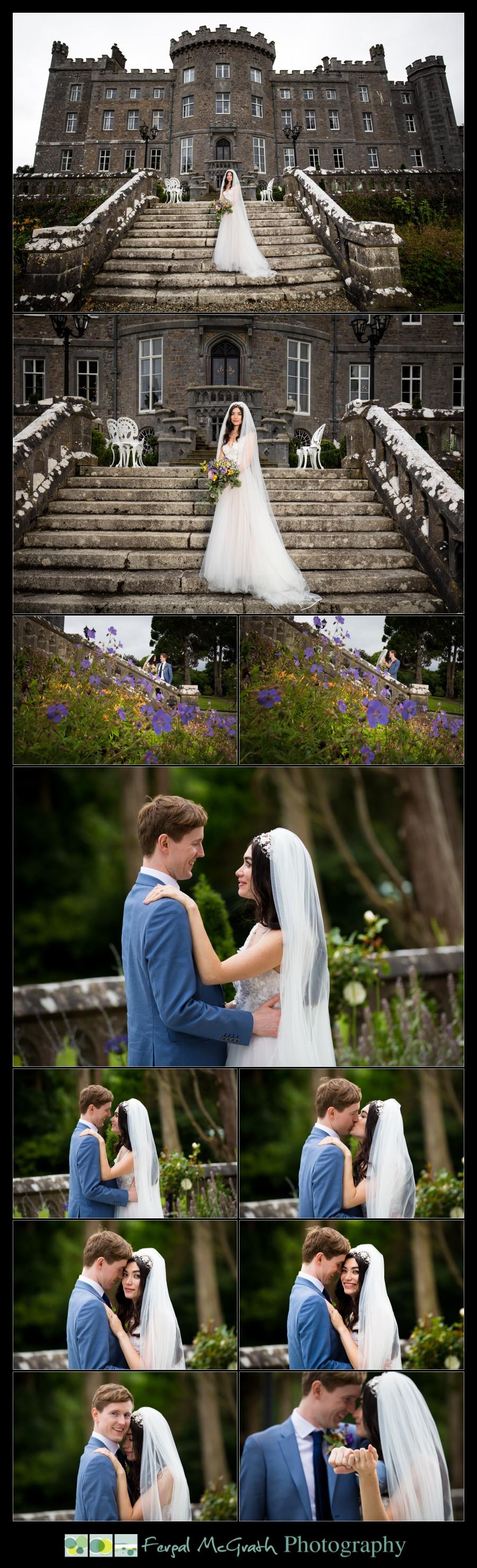 Markree Castle Wedding photos at the castle