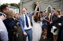 Markree Castle wedding photo
