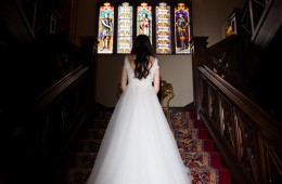 markree castle wedding dress