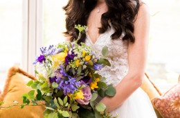 sligo wedding brides bouquet