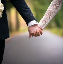 bride and groom at solis lough eske